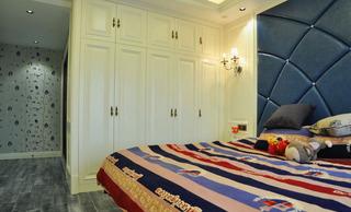 时尚简约欧式风卧室实木独立米色衣柜