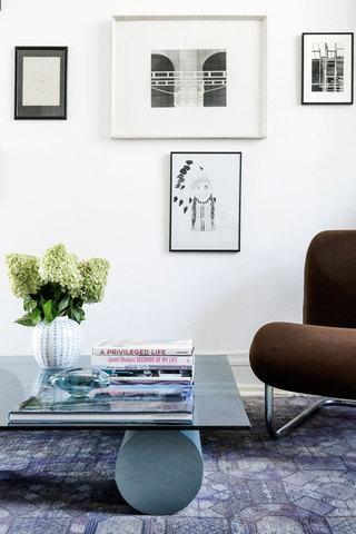 明亮简约时尚北欧风格家居照片墙装饰效果图