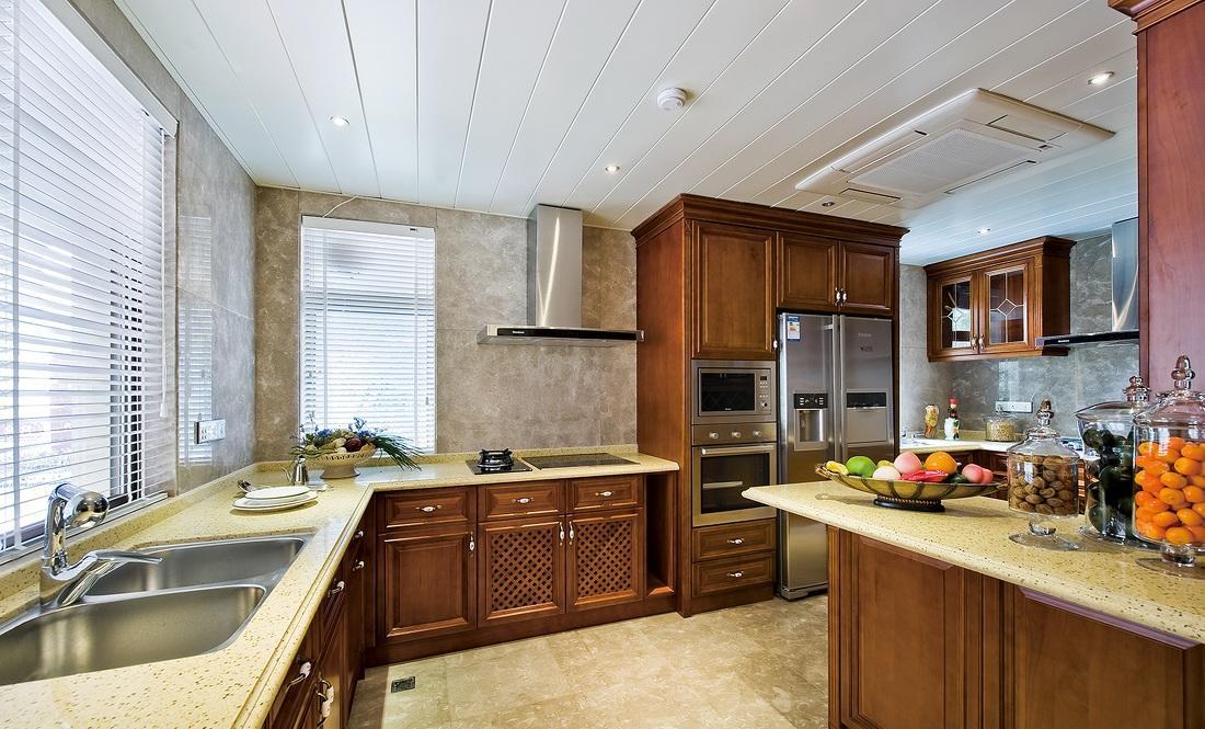 新古典欧式豪华厨房橱柜设计