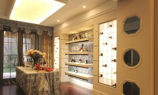 时尚大气现代简约高端酒柜装修设计图