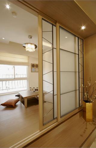 时尚暖色现代日式风格三居室美家欣赏