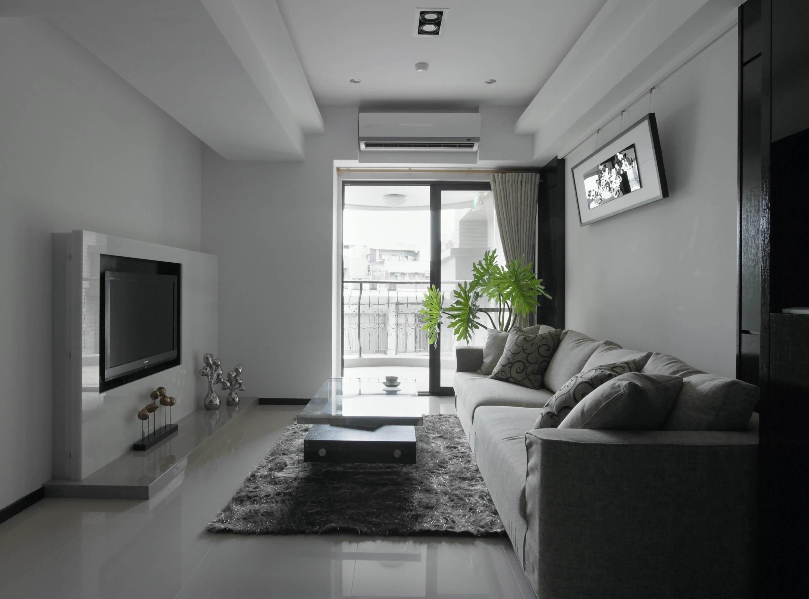 现代简约设计客厅装修效果图