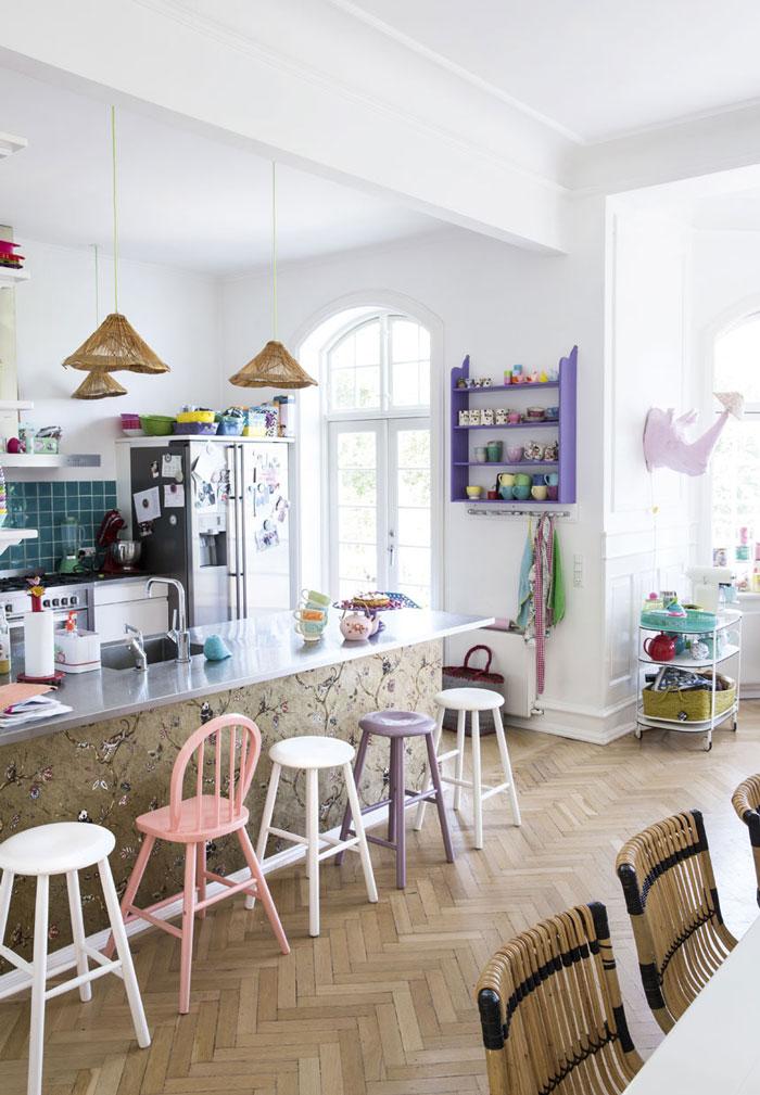 可爱童趣创意北欧吧台设计装修