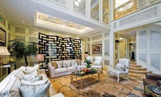 豪华精致欧式别墅装修设计