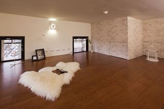 摩登现代风格复式阁楼实木复合地板装饰图