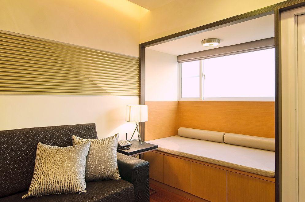 现代简约中式家居室内地台设计