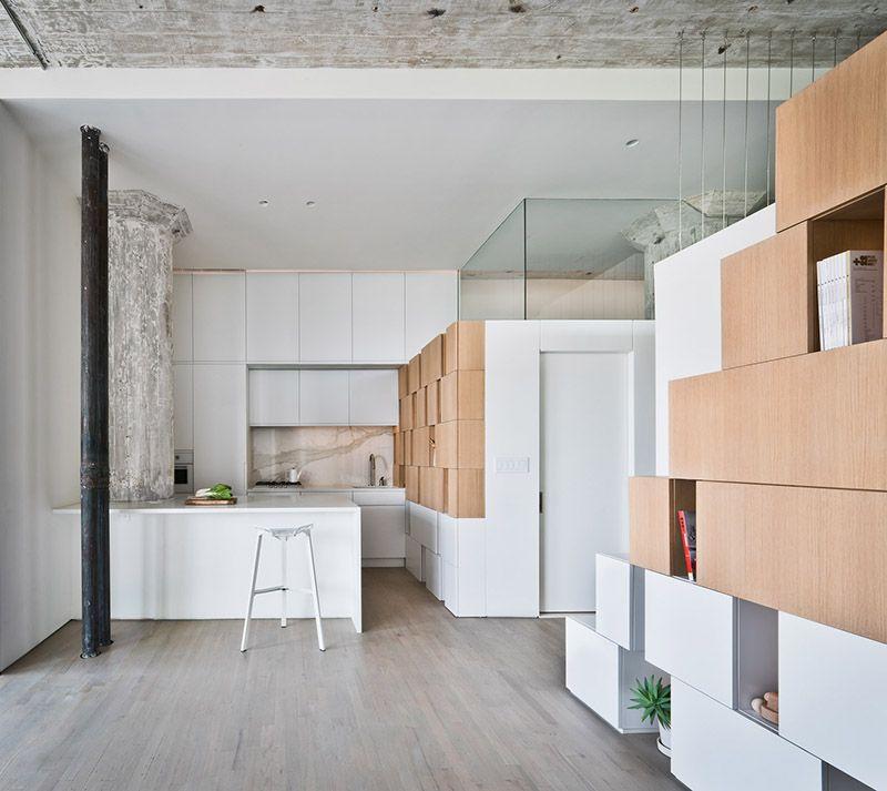 白色极简主义公寓室内装潢美图