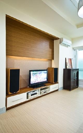 48平小户型简约现代休闲风装修一居室设计