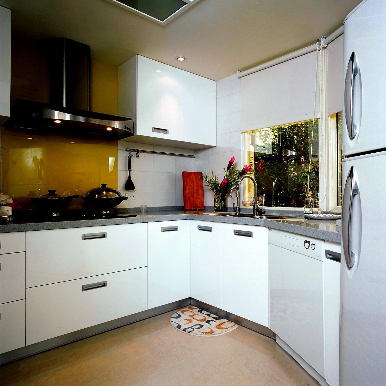温馨简约现代设计不规则厨房设计