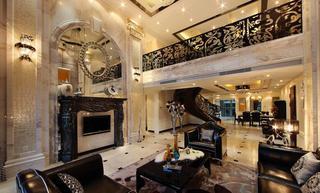 后现代宫廷欧式复式家居设计