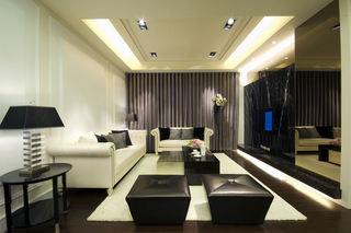 时尚现代简约装修客厅设计大全
