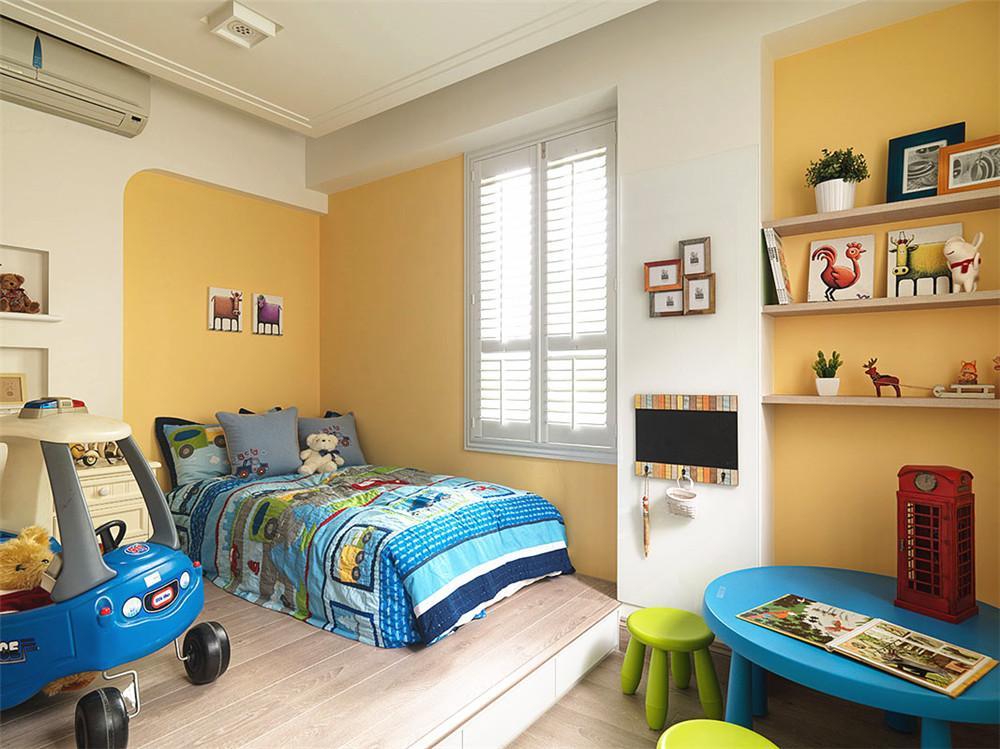 充满可爱气息简欧儿童房设计装修欣赏图