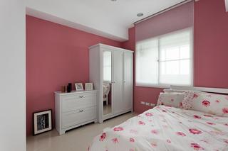 粉色清新简约儿童房设计装修图