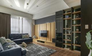 時尚自然韻味宜家風格三居室設計裝修案例圖