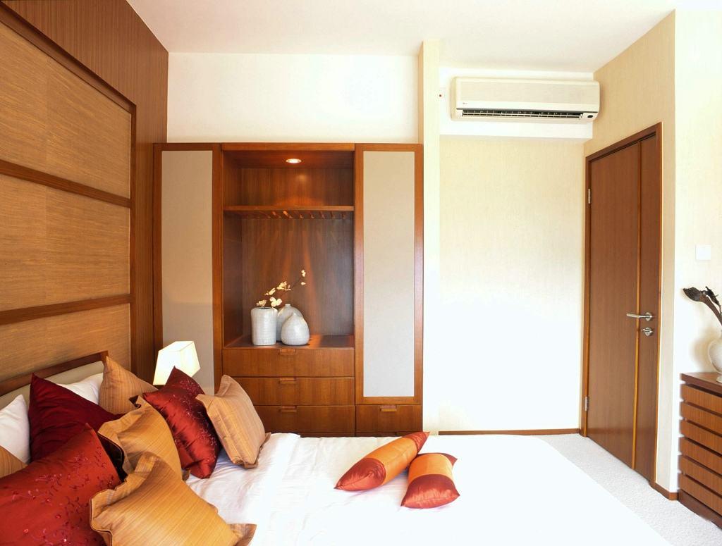 和谐东南亚风格设计别墅卧室装饰效果图片