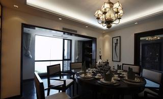高贵新古典家居餐厅效果图