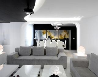 艺术时尚极简现代设计风格公寓装修美图