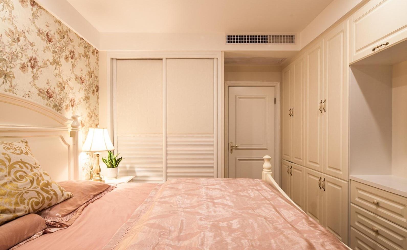 浪漫简约欧式风格设计卧室效果图片