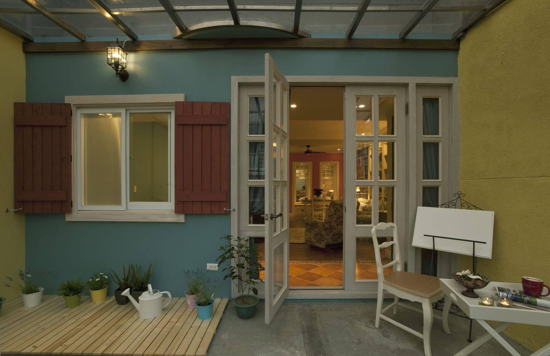简朴田园风格室内小阳台效果图片