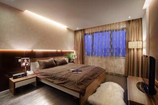 时尚现代风格卧室布置搭配效果图
