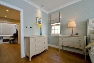 复古美式卧室柜子装修效果图