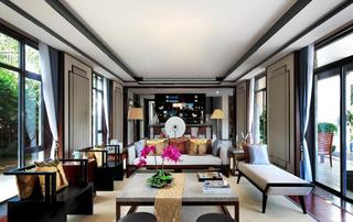 高贵优雅新古典茶室效果图