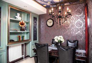 欧式豪华装修设计风格餐厅欣赏图片
