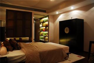 静谧东南亚风格卧室设计装潢欣赏图片