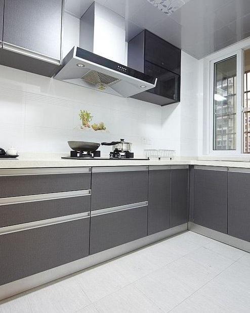 简约现代风厨房橱柜效果图