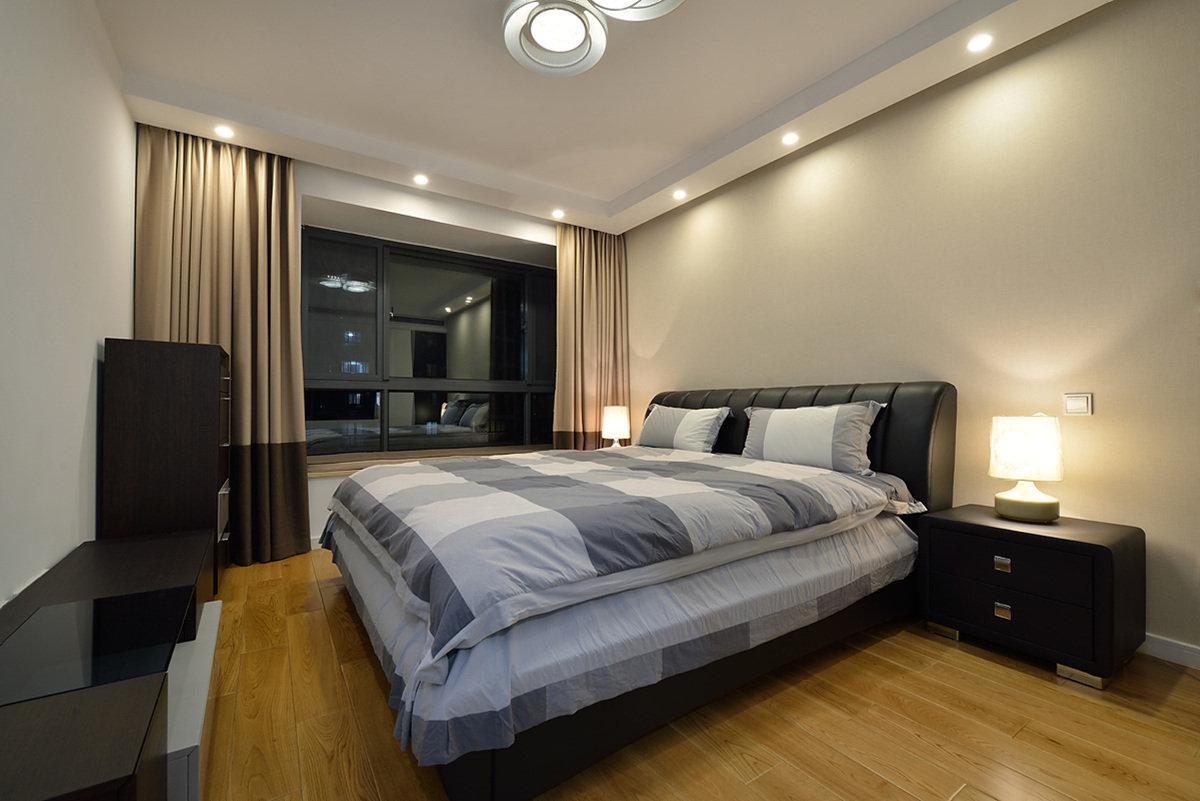 现代时尚简约卧室效果图