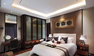 高贵新古典卧室照片墙效果图