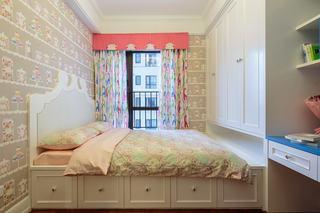 唯美小清新美式儿童房整体家居装潢