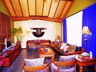 东南亚风格别墅设计装修效果图