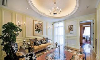 精致奢华欧式风格家居相片墙效果图