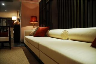 静谧东南亚风格软装沙发装饰欣赏图