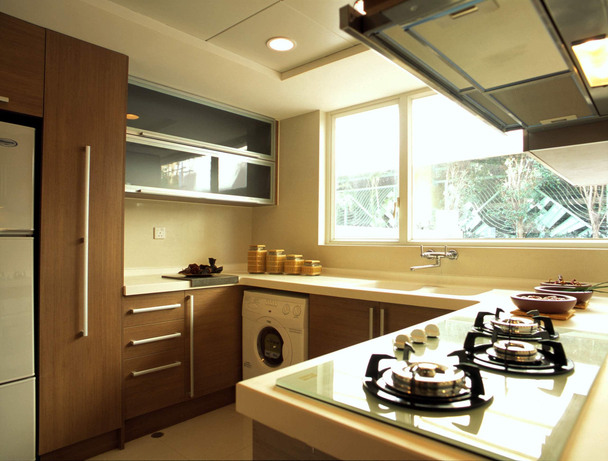 东南亚风格厨房设计装潢案例图