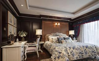 欧式古典风格卧室床上用品装饰效果图
