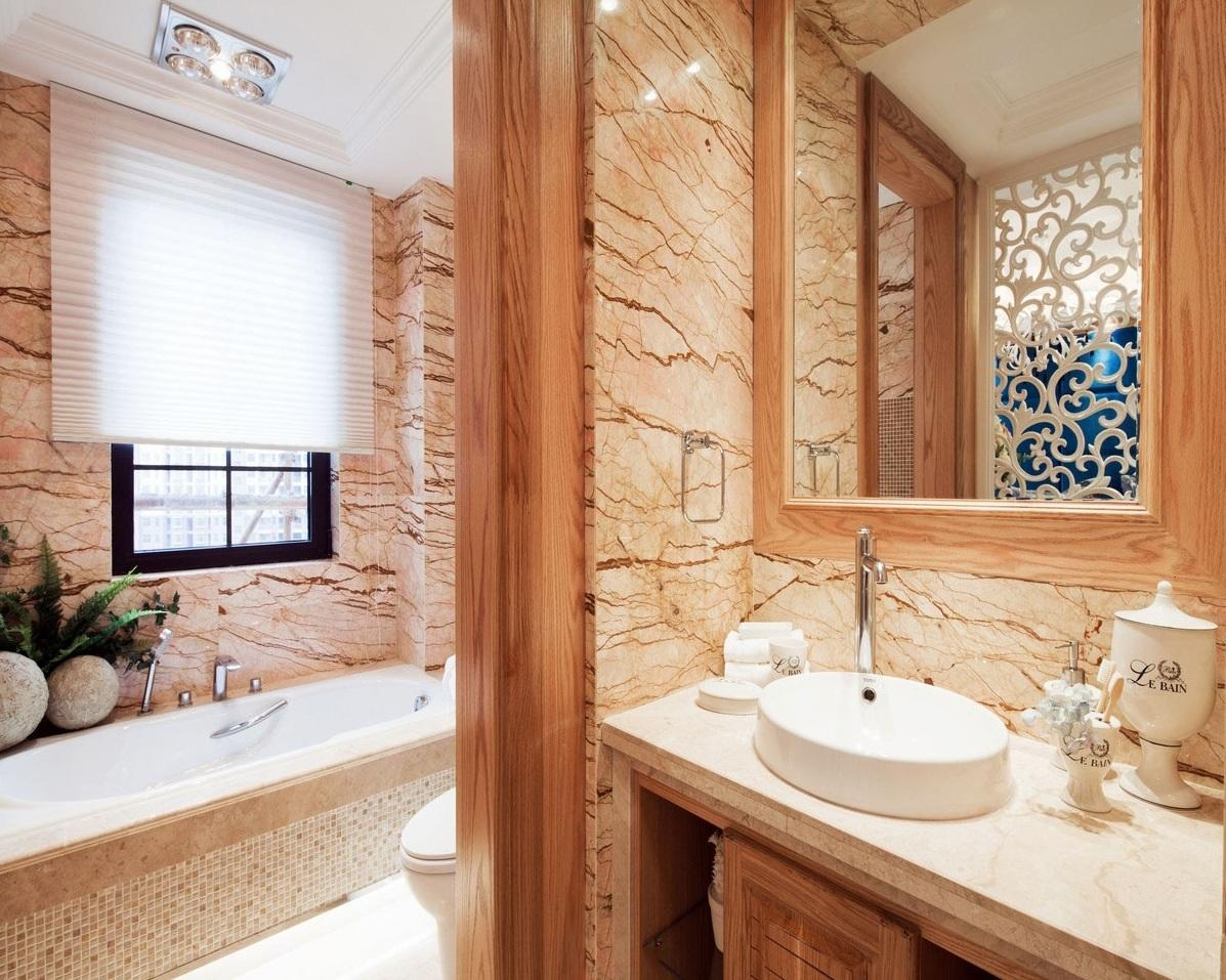 唯美现代欧式卫生间效果图片