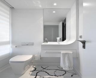 艺术时尚极简现代设计风格卫生间装修美图
