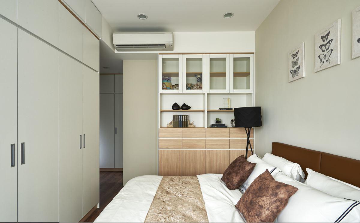 清新宜家风格二居室卧室设计效果图片