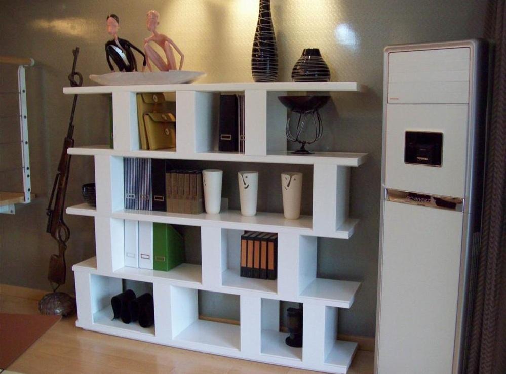 个性现代多功能设计室内置物架图片