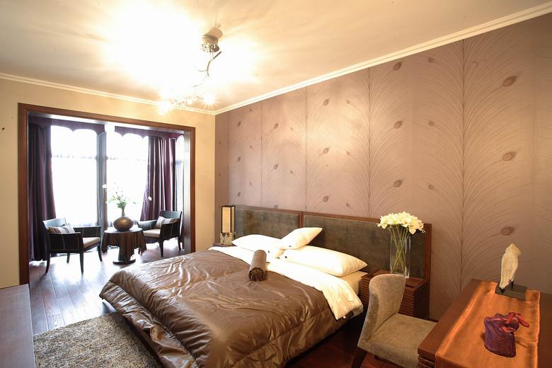 现代简约风卧室效果图