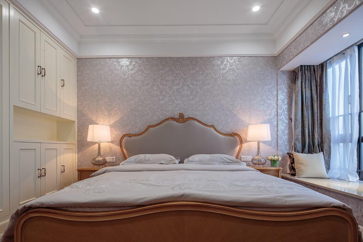 清新典雅美式卧室设计欣赏图