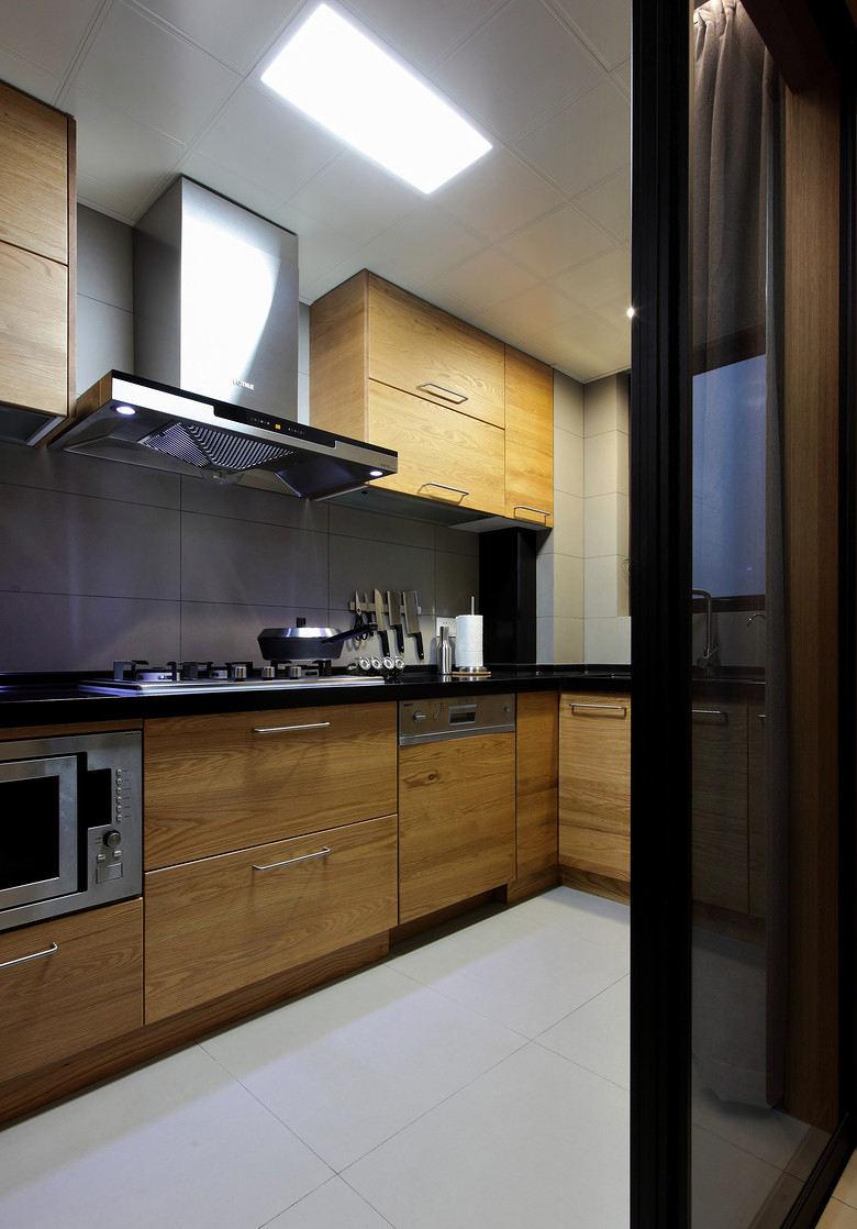 北欧风格四室一厅厨房家居装修设计效果图