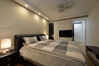 现代摩登时尚卧室布置效果图