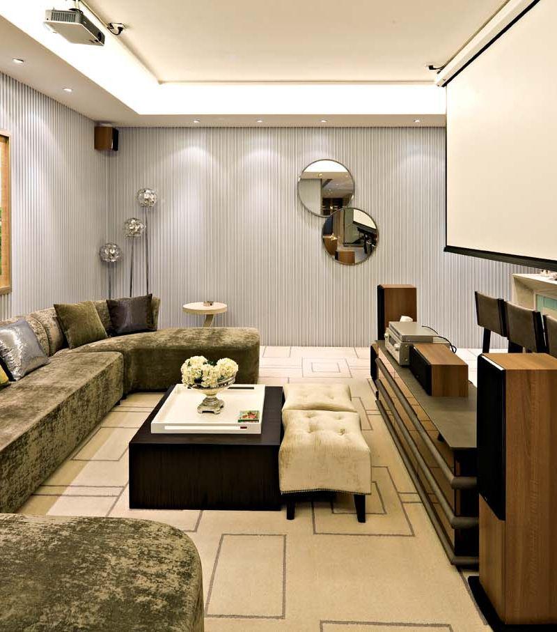 清雅含蓄新中式风格别墅室内设计装饰效果图