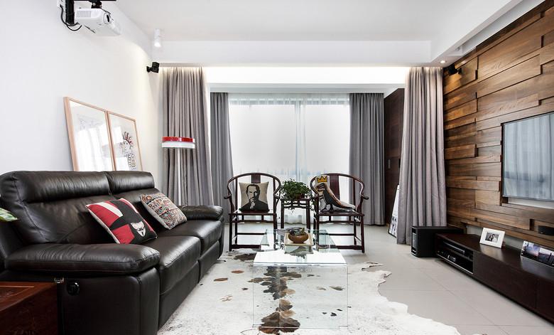 北欧风格四室一厅家居装修设计效果图