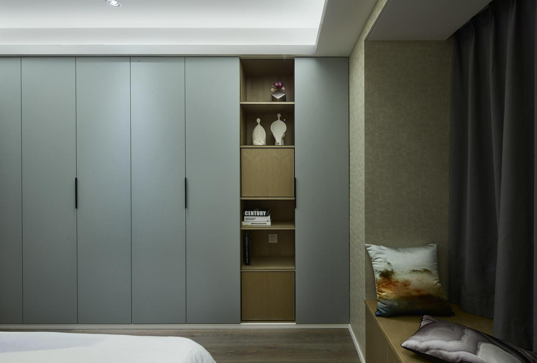 现代风格卧室简约衣柜效果图