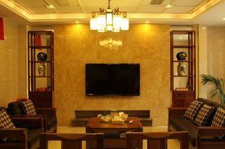 亦古亦今新中式风格设计复式室内装饰效果图片