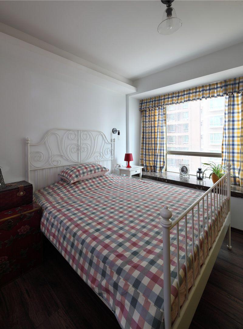 简约卧室飘窗大理石台面效果图片